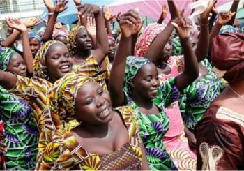 Chibok girls: 82 reunited with families in Nigeria