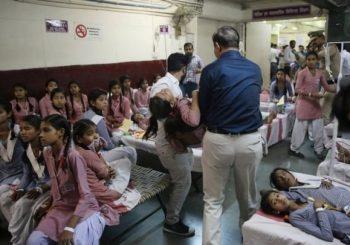 Delhi gas leak: 200 schoolgirls in hospital