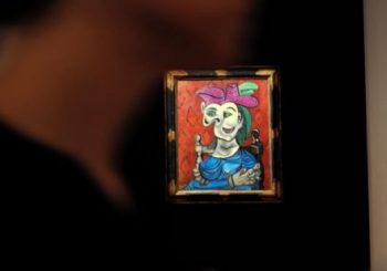 Picasso's Seated Woman in Blue Dress sells for $45m