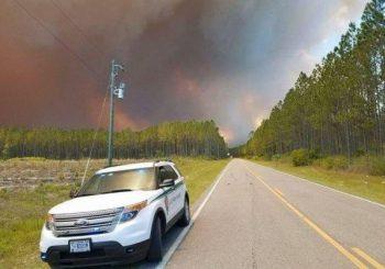 Georgia orders mandatory evacuations due to wildfire