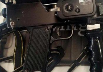Gun-like camera accessory gives TSA agents pause