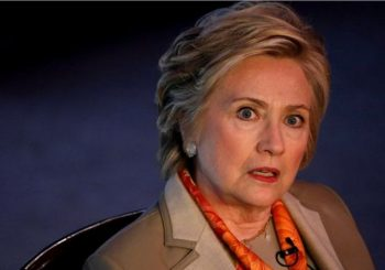 Hillary Clinton joins the 'Trump resistance'