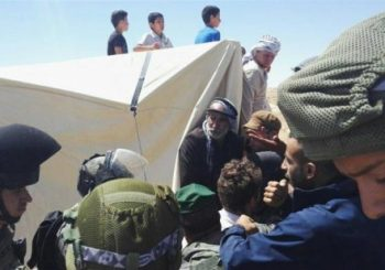 Israeli forces raid Sarura protest camp in Hebron Hills