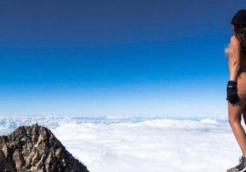 Playboy model angers Maori with nude shoot on sacred mountain