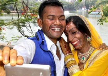 Indian acid-attack bride finds love from a wrong number