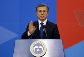 South Korea's new leader willing to visit North