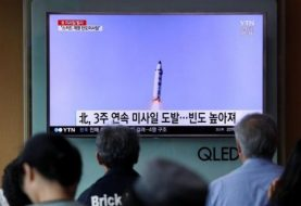 North Korea fires missile in third test in three weeks