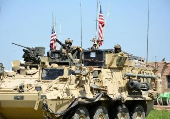 U.S.-led coalition patrols Turkey-Syria border