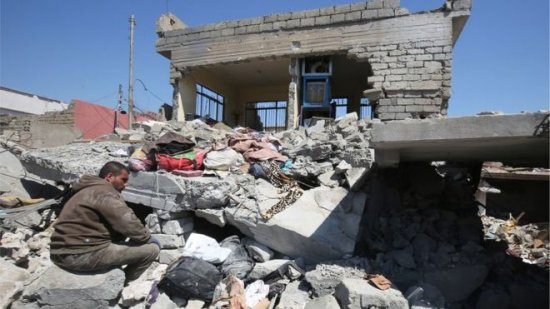 US air strike on IS killed 105 civilians in Iraqs Mosul