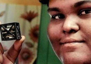 Indian teen builds world's 'lightest satellite'