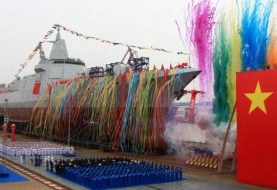 China launches new warship type to boost military strength