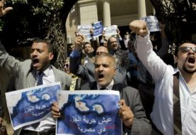 Egypt arrests dozens ahead of proposed island protests