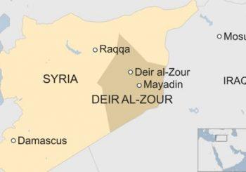 Air strike on IS prison in Syria kills dozens