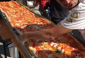 World's longest pizza shatters Italian record, extends for over a mile