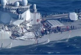 Sailors found dead after USS Fitzgerald's Japan collision