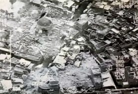 Destruction of al-Nuri mosque 'shows IS defeated'