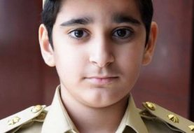 8-year-old boy becomes Dubai Police officer