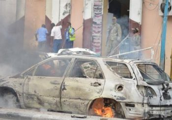 Car bomb explodes near police station in Mogadishu