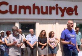 Turkey's Cumhuriyet journalists in terrorism trial