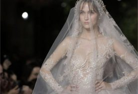 Lebanese designer Zuhair Murad at Paris Haute Couture Fashion Week