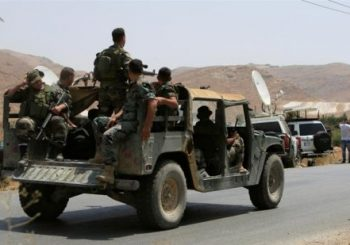 Lebanese mediator killed in fighting near Syrian border