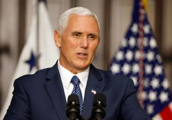 Mike Pence in Estonia to ease Russia concerns in Baltic