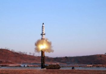 North Korea fired missile into Japanese waters