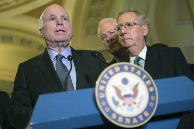 Senate postpones healthcare bill vote over McCain surgery