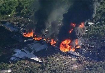 Sixteen dead in Marines plane crash