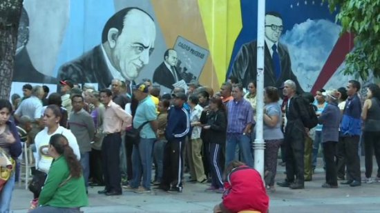Venezuela votes on constituent assembly amid protests