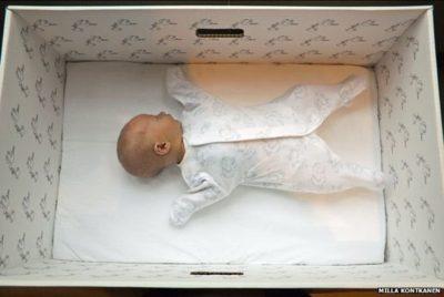Why Finland's Newborns Sleep in Cardboard boxes