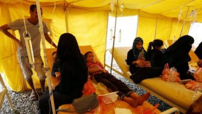 ICRC: Yemen cholera cases pass 300,000 as outbreak spirals