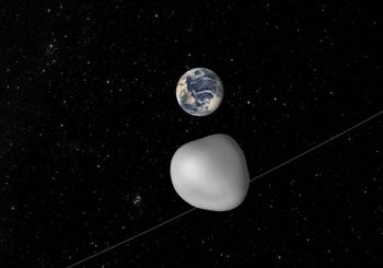Small asteroid to pass between Earth and the moon