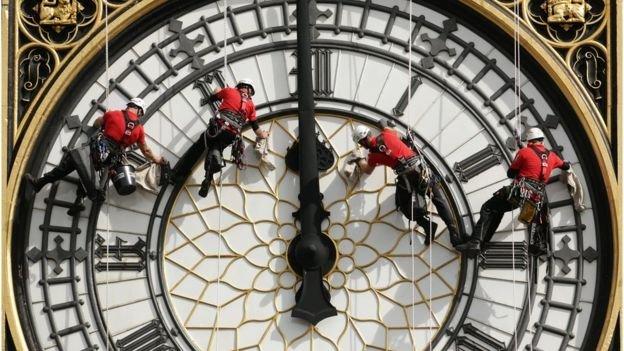 Big Bens bongs to fall silent until 2021 for repairs