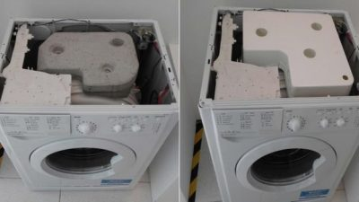 Device could make washing machines lighter and greener