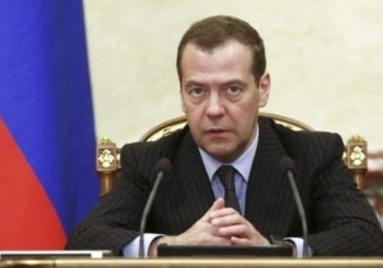 US sanctions are 'trade war' on Russia, says PM Medvedev