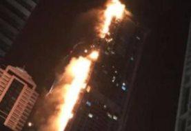Large fire rips through Dubai's Torch Tower