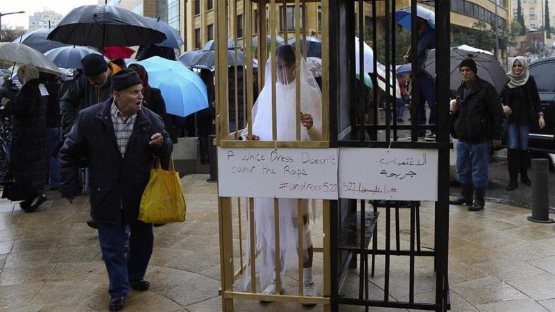 Lebanon scraps controversial rape law after campaign