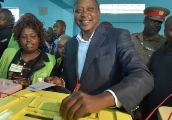 Kenya election 2017: Kenyatta says respect the result