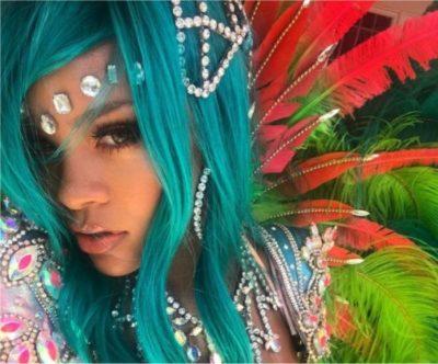 Rihanna's Crop Over costume slays social media