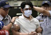 Samurai sword attack at Taiwan's presidential palace
