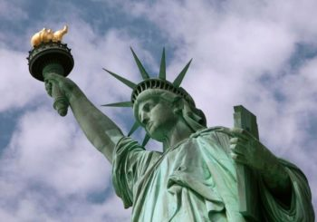 Statue of Liberty caught in White House immigration row