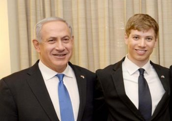 Israeli PM Netanyahu's son in social media row over dog poo