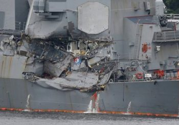 US Navy to discipline USS Fitzgerald sailors