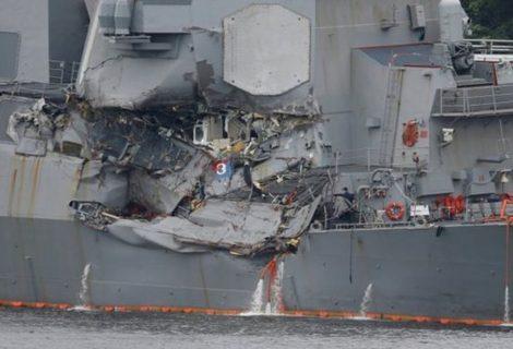 US Navy to discipline USS Fitzgerald sailors