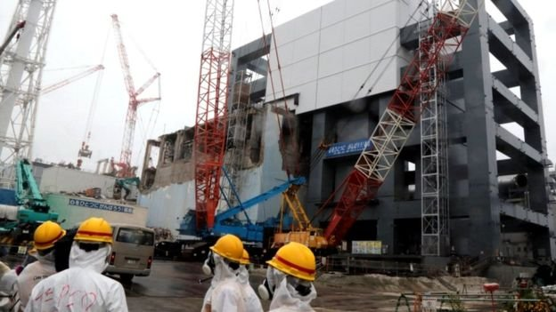 WW2 bomb found at Fukushima nuclear site