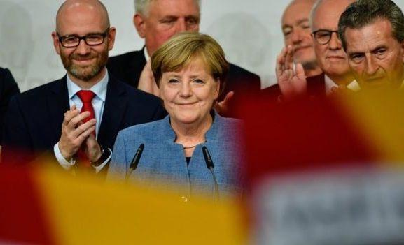 German Chancellor Angela Merkel wins fourth term