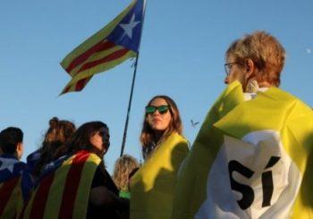 Huge referendum in Barcelona