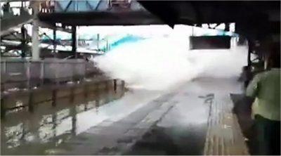 Mumbai railway station stampede kills 15 amid heavy rain