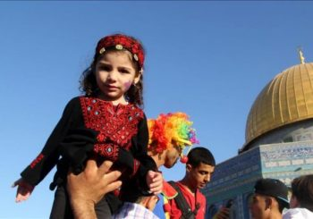 Palestinians mark Muslim New Year at Al-Aqsa Mosque